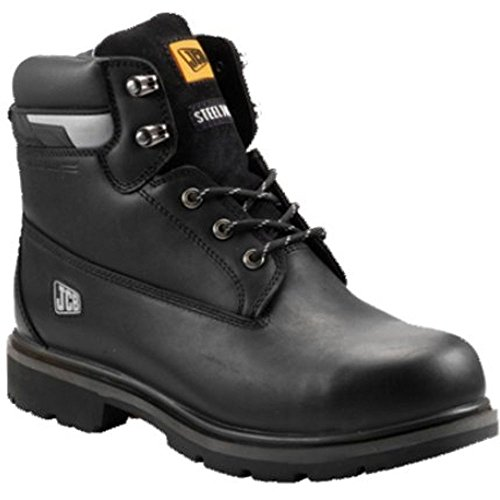 Protector Schwarz 6 Größe Sicherheitsstiefel JCB B wOfdqScY