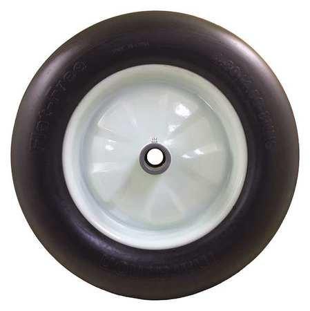 Flat-Free-Wheel-Polyurethane-500lb-White