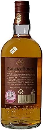 Arran - Robert Burns Single Malt Scotch