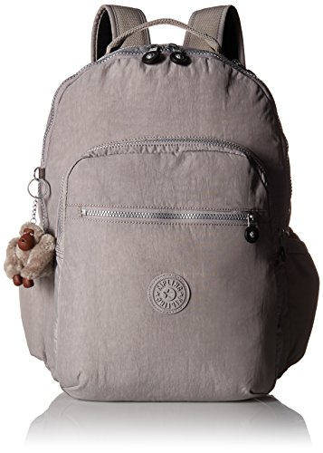 Kipling Seoul Go Laptop Backpack, Slate Grey , One Size