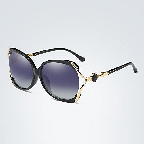 Sunglass 2018 de Color Gafas Polarized Designer Gran Sol Brand Marco 1 Go de Tamaño 3 Mujer de Sol Cristal Easy Gafas Mariposa UV400 Shopping de de de POqSpA