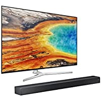 UN55MU9000 Curved 55-Inch 4K UHD  TV & Sound+  7 Series Soundbar Bundle