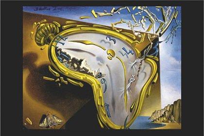 Salvador Dalí - El Reloj Derretido de Montre Molle. Maxi poster artístico de PAPEL. Medidas aprox. 91,5 x 61 cm.: Amazon.es: Hogar