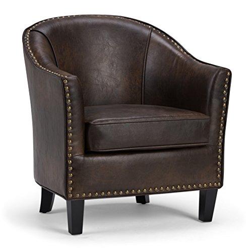 04-DBR Kildare Tub Chair, Distressed Brown ()