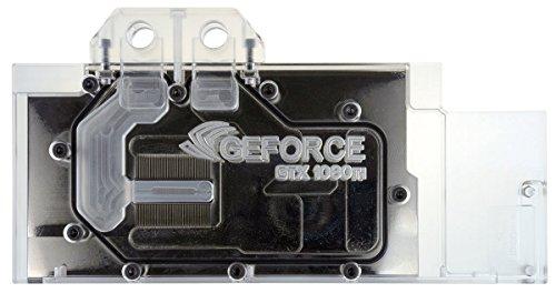 CUK NVIDIA GTX Water Liquid GPU Cooling Block for Founder's Edition & MSI Aero Graphics Cards (1070, 1070 Ti, 1080, 1080 Ti, Titan XP, Titan X)