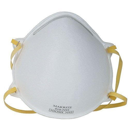 100 N95 Approved Face Safety Breathing Respiratory N-95 Particle Dust Masks PackageQuantity: 100, Model: , Tools & Outdoor Store by Makrite