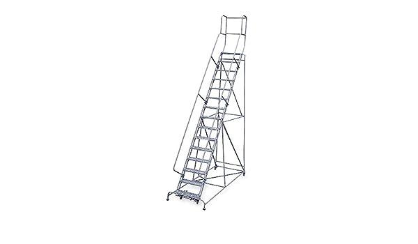 Cotterman 1515R2642A6E30B4C1P3 - Escalera de 15 peldaños perforada, 192 de altura total, 450 lb Capacidad de carga: Amazon.es: Bricolaje y herramientas