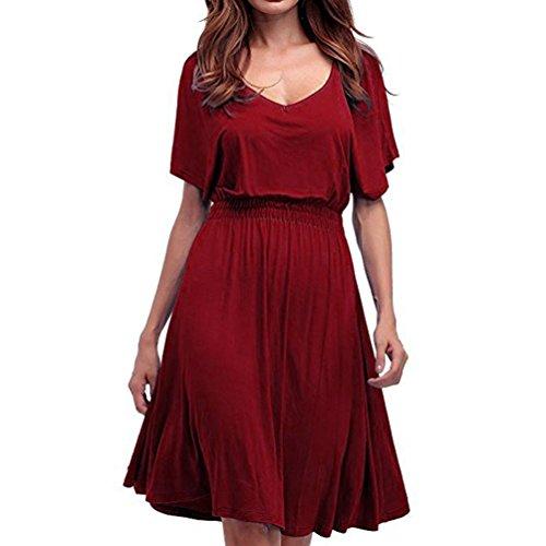 Damen kleider elegant lang Damen kleider sommer Frauenreizvolle ...