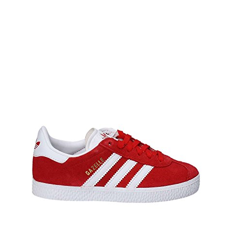adidas Gazelle C, Zapatillas de Deporte Unisex Niños Rojo (Escarl / Ftwbla / Dormet)