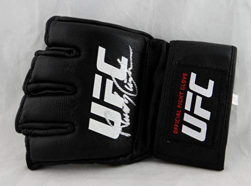 Randy Couture Autographed UFC Official Fight Glove - Beckett Authentic Silver