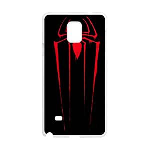 Samsung Galaxy Note 4 Cell Phone Case White_Red Spider Ivoqx