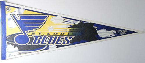 St Louis Comics - NHL St Louis Blues Standard size pennant, made by Wincraft sports