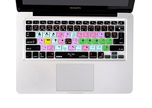 Final Cut Pro X Keyboard Cover Silicone Skin Protector for M