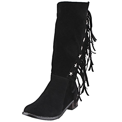 Women's AIYOUMEI Classic Black Boot Black Classic Women's AIYOUMEI Black Boot AIYOUMEI AIYOUMEI Classic Women's Boot PqnUFwa