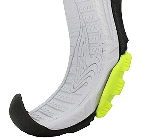VECJUNIA Boys Adventurous Closed Toe Hook-and-Loop Sport Sandals Olive 5 M US Big Kid by VECJUNIA (Image #2)