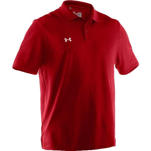 Under Armour Men's Performance Team Polo 4XL Red