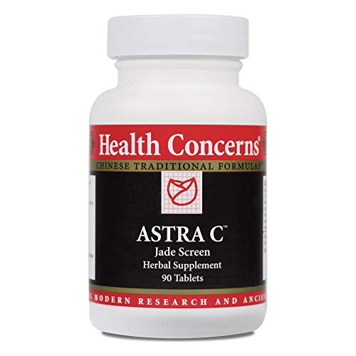 Health Concerns – Astra C – Jade Screen Herbal Supplement – 90 Tablets