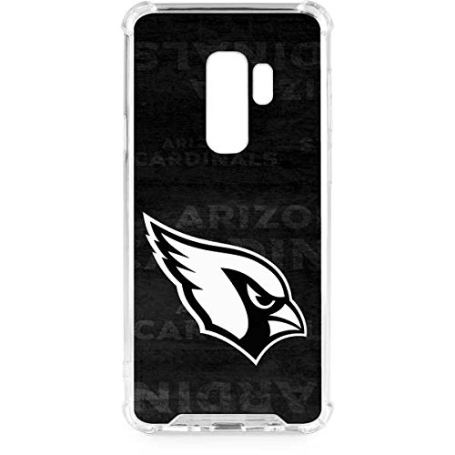 9b8a42de20f Amazon.com  Skinit Arizona Cardinals Black   White Galaxy S9 Plus ...