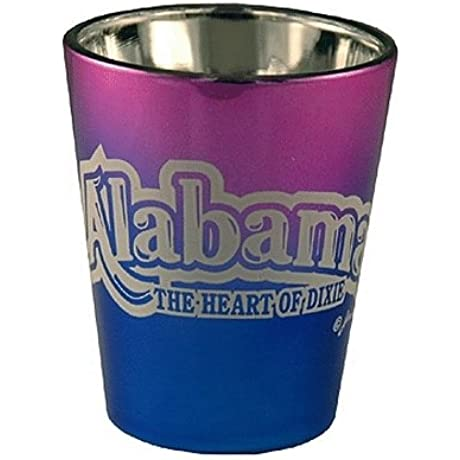 DDI Alabama Shot Glass 2 25H X 2 W Electro Bubble Cases Of 60 Items