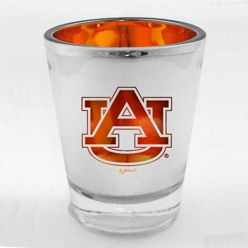 Ncaa Auburn Tigers Team Glass (NCAA Auburn Tigers Lasercut Shotglass, One Size, Multicolor)