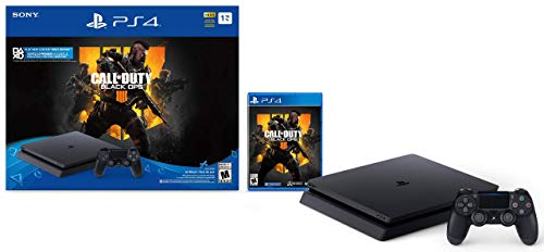 PlayStation 4 Slim 1TB Console – Call of Duty: Black Ops 4 Bundle (Renewed)