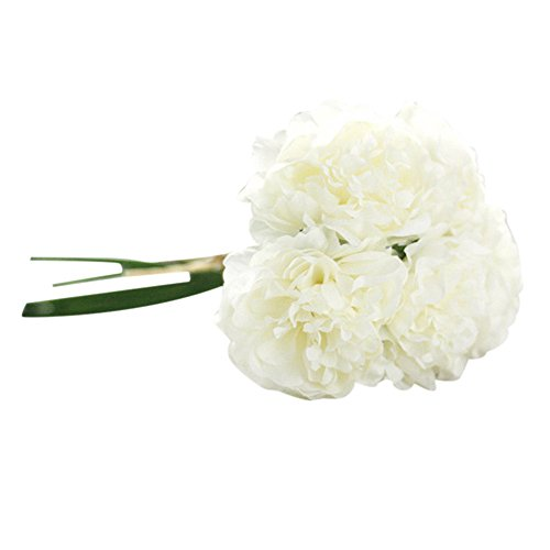 Goodpig Artificial Silk Fake Flowers Peony Floral Wedding Bouquet Bridal Hydrangea Decor Home Decor