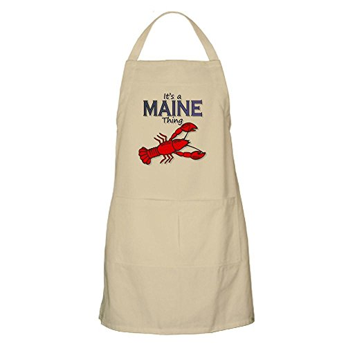 Bbq Cupsreviewcomplete Apron - CafePress It's a Maine Thing - Lobster Apron Kitchen Apron with Pockets, Grilling Apron, Baking Apron