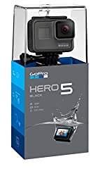 Image of the product GoPro HERO5 Black   that is listed on the catalogue brand of GoPro. It is scored with a 4.2 over 5.