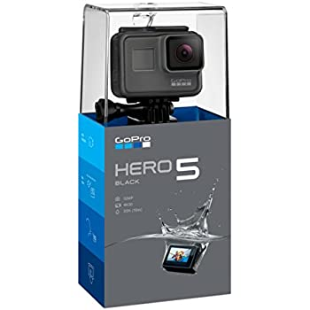 Gopro Hero5 Black Waterproof Digital Action Camera For Travel With Touch Screen 4k Hd Video 12mp Photos