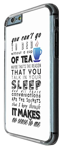 779 - You Can't Go To Bed Without A Cup Of Tea Design iphone 6 6S 4.7'' Coque Fashion Trend Case Coque Protection Cover plastique et métal