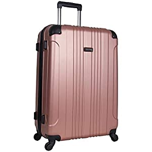 Kenneth Cole Reaction Out Of Bounds 2-Piece Lightweight Hardside 4-Wheel Spinner Luggage Set: 20″ Carry-On & 28″ Checked Suitcase