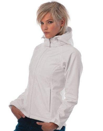 Softshell Sombre Jacket Performance B Womens amp; Hooded Gris C Sx1qXaf