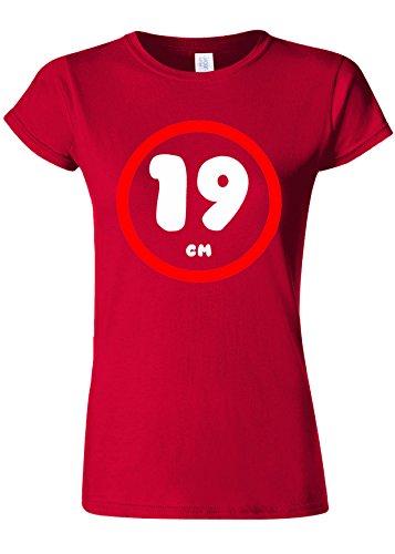 つかいます合わせてアルバム19 cm Funny Novelty Cherry Red Women T Shirt Top-XL