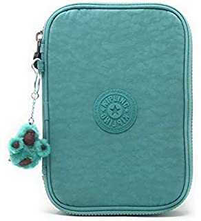 39f53ac5c Kipling 100 Pens Case One Size Baltic Mint Green