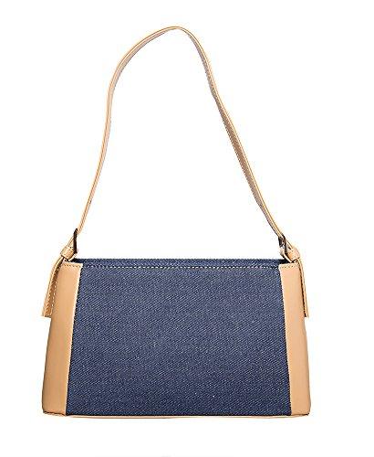 All Blue Camel Medium Shoulder For Classical by women handbag Denim Handbag Hobo Handbags P4wvFS