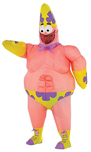 BESTPR1CE Kids Halloween Costume- Spongebob-Patrick Star Inflatable Boys ()