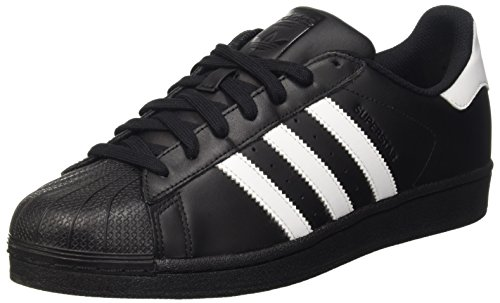 Adidas - Superstar Foundation - B27140 - Color: Black-White - Size: 9.5