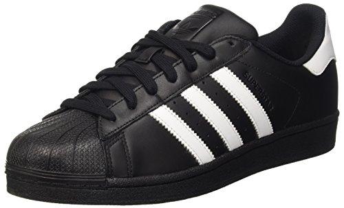 adidas Originals Superstar Foundation B27140, Herren Low-Top Sneaker, Schwarz (Core Black/Ftwr White/Core Black), EU 42 2/3