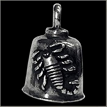 Pewter Motorcycle Gremlin Bell 420 Weed Marijuana Made in the USA