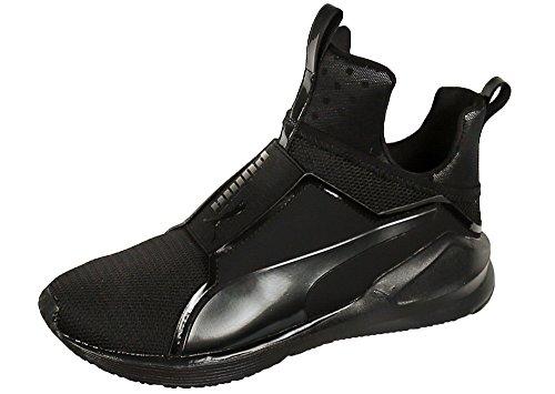 PUMA Women's Fierce Core Cross-Trainer Shoe, Black Black, 10 M US