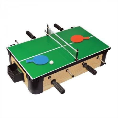 "Merchant Ambassador MA3153 - 20"" Triple-Play Wood Tabletop Foosball (+Ping Pong + Slide Hockey) by Merchant Ambassador"