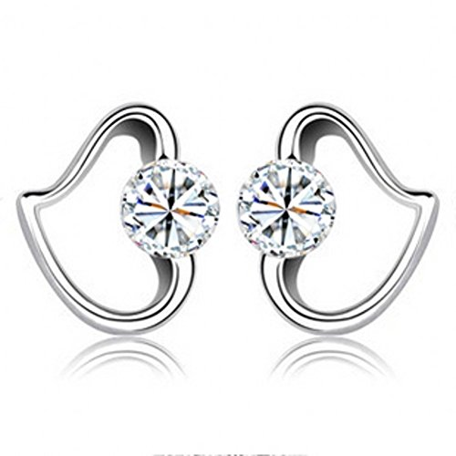 ER1210128C1 Explosion Models Silver Diamonds Women's Earring