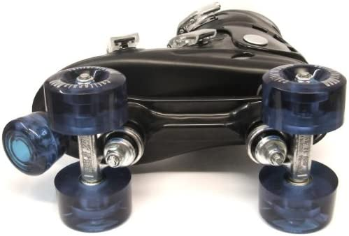 Ventronic California Pro Black Kids & Adults Quad Roller Skates - 2