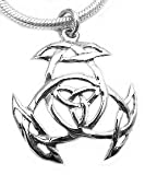 Sterling Silver Pagan Wiccan Protection Knot Pendant