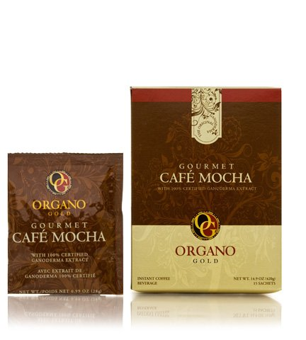 1 Box of Organo Gold Ganoderma Gourmet Ð Gourmet Cafe Mocha (15 sachets)