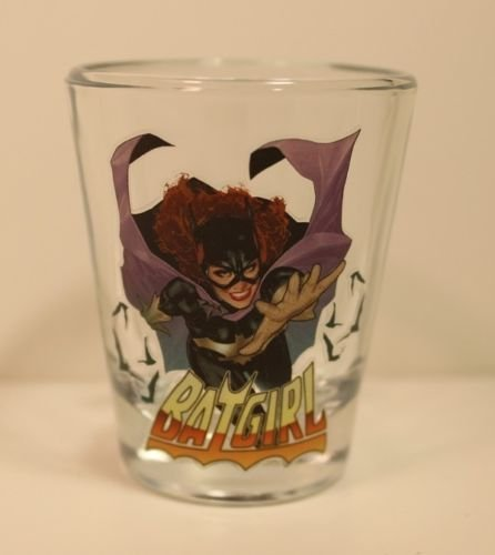 Toon TumblerTM: Batgirl (DC) Collectible Mini-glass (Shot Glass) ()
