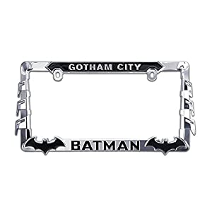 ELEKTROPLATE Batman 3D All-Metal License Plate Frame (BATMAN-LPF)