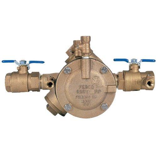Febco 825DBV 825Y Quarter TurnReduced Pressure Zone Assembly, 3/4 by Febco ()