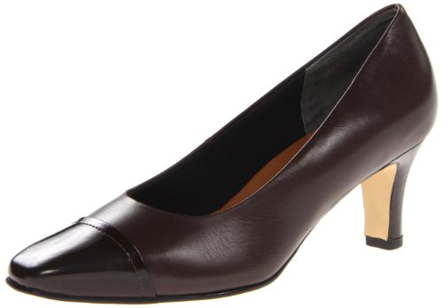n's Race Dress Pump,Brown,6.5 M US (Brown Womens Pumps)