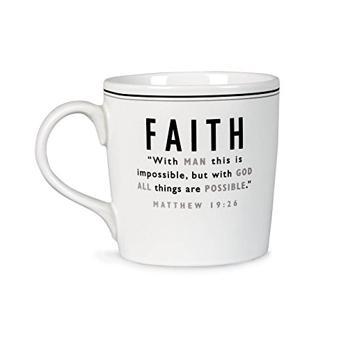 Lighthouse Christian Products Faith Ceramic